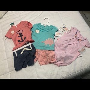 CARTER'S 3M BABY CLOTHES NWT
